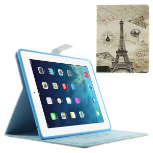 Paris Eiffel Tower Folio Stand Awakening Smart Leather Case Cover for iPad 2 3 4