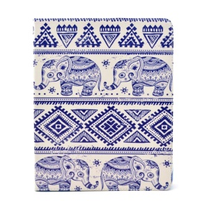 Tribal Elephants Protective Smart Leather Stand Case Cover for iPad 2 3 4