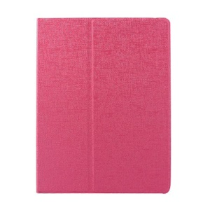 Rose Oracle Grain Smart Leather Rotary Stand Shell for iPad 2 3 4