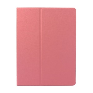 Pink Oracle Grain Smart Leather Rotary Stand Shell Cover for iPad 2 3 4