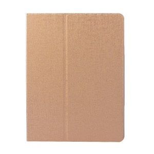 Gold Oracle Grain Smart Leather Rotary Stand Flip Case for iPad 2 3 4