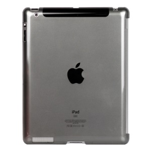 Clear Smart Cover Companion Crystal Case for iPad 2 The New iPad 3rd Generation - Grey
