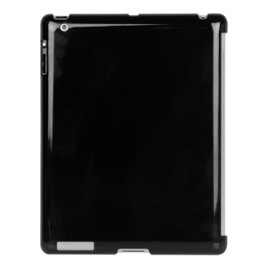 Smart Cover Companion Crystal Case for iPad 2 The New iPad 3rd Generation - Black