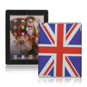 Union Jack Flag Rubberized Hard Case Cover for New iPad 2nd 3rd 4th Generation