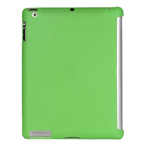 Smart Cover Companion TPU Gel Case for iPad 2 3 4 - Green
