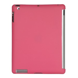 Smart Cover Companion TPU Gel Case for iPad 2 3 4 - Pink