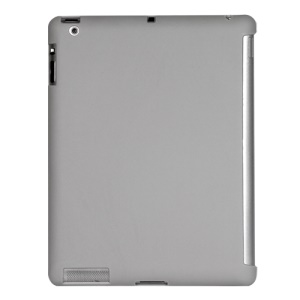 Smart Cover Companion TPU Gel Case for iPad 2 3 4 - Grey