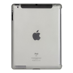 Smart Cover Companion TPU Gel Case for iPad 2 3 4 - Transparent