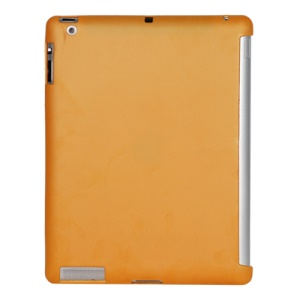 Smart Cover Companion TPU Gel Case for iPad 2 3 4 - Orange