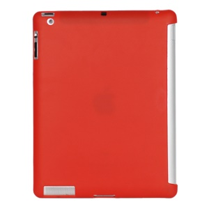 Smart Cover Companion TPU Gel Case for iPad 2 3 4 - Red