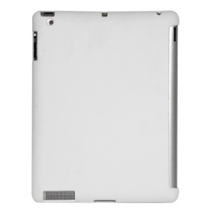 Smart Cover Companion TPU Gel Case for iPad 2 3 4 - White