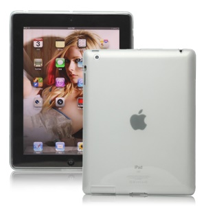 Naked TPU Skin Cover Case for New iPad 2 3 4