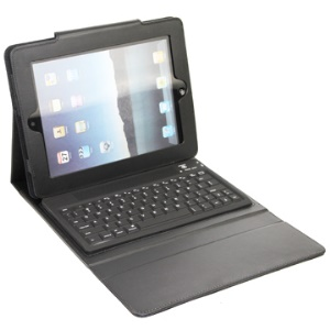 New iPad 2nd 3rd 4th Gen Bluetooth Keyboard Case Leather Cover