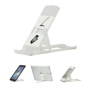 Clear Foldable Stand Mount Bracket for The new iPad iPhone Tablet PC - Transparent