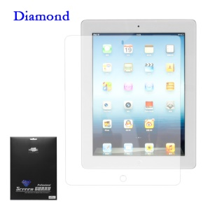 Diamond Screen Protector Film for iPad 2 The New iPad 3rd Gen
