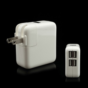 4 Ports USB Wall Home AC Charger Adapter for iPad iPhone iPod etc - US Plug
