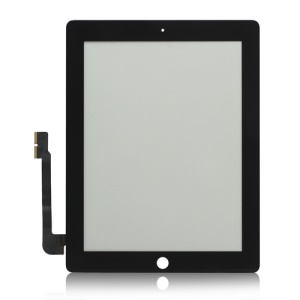 The new iPad Digitizer Touch Screen Replacement Parts (Good Quality) - Black