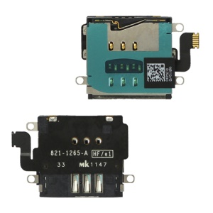 SIM Card Holder Flex Cable Repair for The New iPad Wi-Fi + 4G