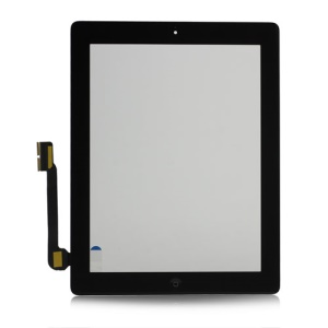 Digitizer Touch Screen Assembly for The New iPad / For iPad 3 OEM  - Black