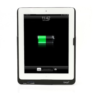 Ipega High Capacity 9000mAh Back-up Battery Pack Charger Case for iPad 4
