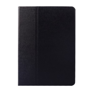 Oracle Grain Smart Rotary Leather Flio Case w/ Stand for iPad Air - Black