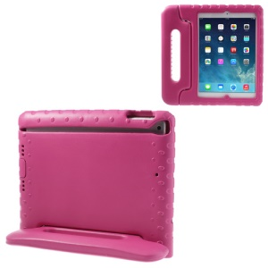 Portable Kids EVA Foam Protective Cover w/ Handle & Stand for iPad Air 5 - Rose