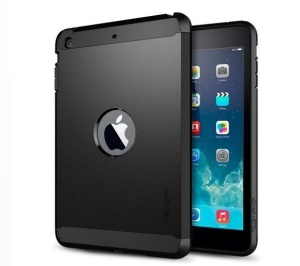 Black SGP Tough Armor TPU + PC Hybrid Case Cover for iPad Air 5