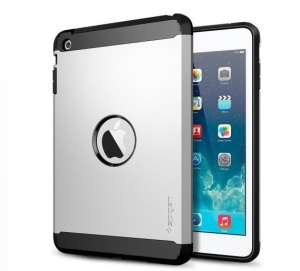 Silver SGP Tough Armor for iPad Air 5 TPU + PC Hybrid Case Accessory