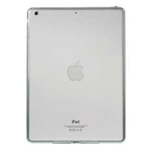 Crystal Clear Acrylic + TPU Hybrid Shell Case for iPad Air - Grey