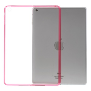 Crystal Clear Acrylic + TPU Hybrid Case Shell for iPad Air - Rose