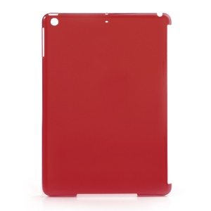Translucent Red Companion Plastic Case for iPad Air (Compatible with Smart Cover)