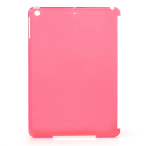 Translucent Rose Plastic Companion Back Case for iPad Air (Compatible with Smart Cover)