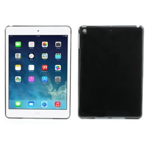 Smooth Clear Crystal Case Cover for iPad Air - Black