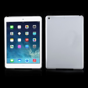 Smooth Clear Crystal Case Cover for iPad Air - White
