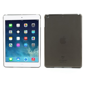 Smooth Clear Crystal Back Case for iPad Air - Transparent Grey