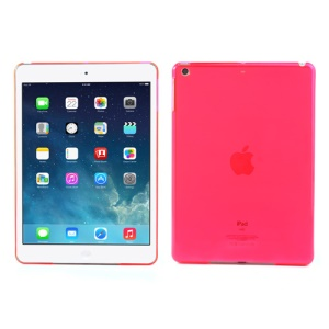 Smooth Clear Crystal Shell Case for iPad Air - Transparent Rose