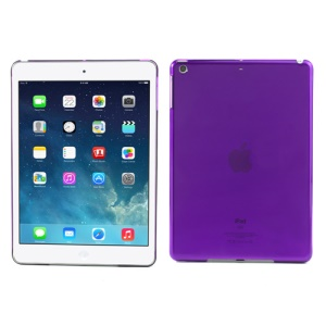Smooth Clear Crystal Protective Case for iPad Air - Transparent Purple