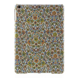Pretty Flowers Pattern Cloth Coated for iPad Air 5 Hard Back Cover