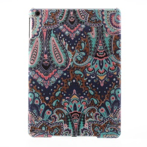 For iPad Air 5 Tribal Floral Pattern Cloth Coated Hard Plastic Cover