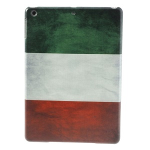 Retro Italian National Flag for iPad Air 5 Hard Cover Case