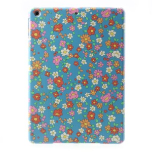 For iPad Air 5 Multicolor Flowers PC Back Case