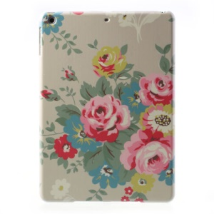 For iPad Air 5 Blossom Peony Slim Hard Back Case