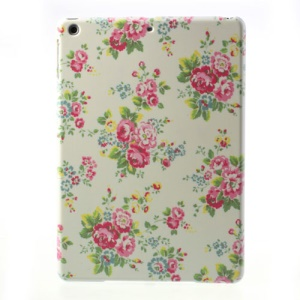 For iPad Air 5 Little Peony Flower Hard Protective Case