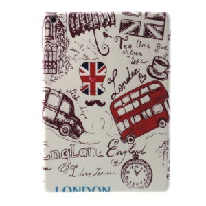 England Red Double-deck Bus & Mini Car Hard Case for iPad Air 5
