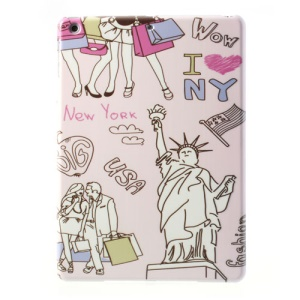Statue of Liberty New York Painting Slim Hard Shell for iPad Air 5