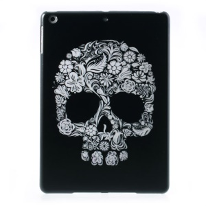 Cool Floral Skull for iPad Air 5 Light Hard Case