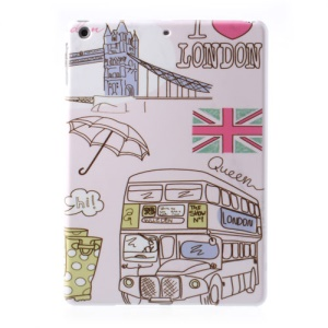 London Bridge & Double-deck Bus Pattern for iPad Air 5 Hard PC Cover