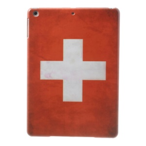 For iPad Air 5 Switzerland National Flag Printing Hard Tablet Case