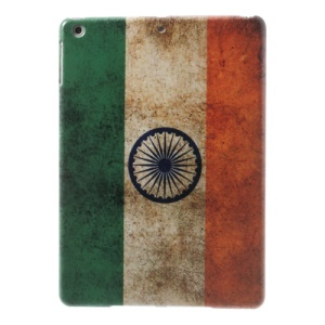 For iPad Air 5 India National Flag Printing Hard Case Cover
