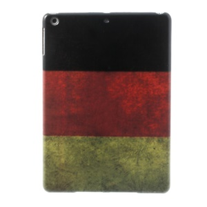 German Country Flag Design Hard PC Cover for iPad Air 5